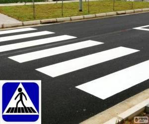 Zebra crossing puzzle