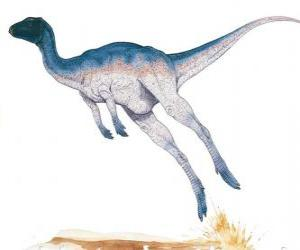 Zephyrosaurus was a bipedal corridor of only 1.8 meters in length weighing 50 kg puzzle