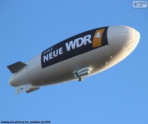 Zeppelin - Airship or dirigible  puzzle