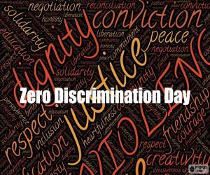 Zero Discrimination Day puzzle