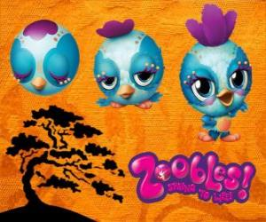Zooble Little Bird from Petagonia puzzle