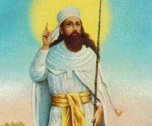 Zoroaster or Zarathustra, prophet and founder of Zoroastrianism puzzle