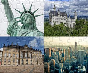 Houses, Cities and Monuments puzzles