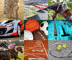Sports and Adventure puzzles