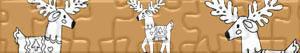 puzzles Santa Claus's reindeers