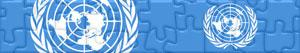 puzzles Flags and Logos of the United Nations - UN