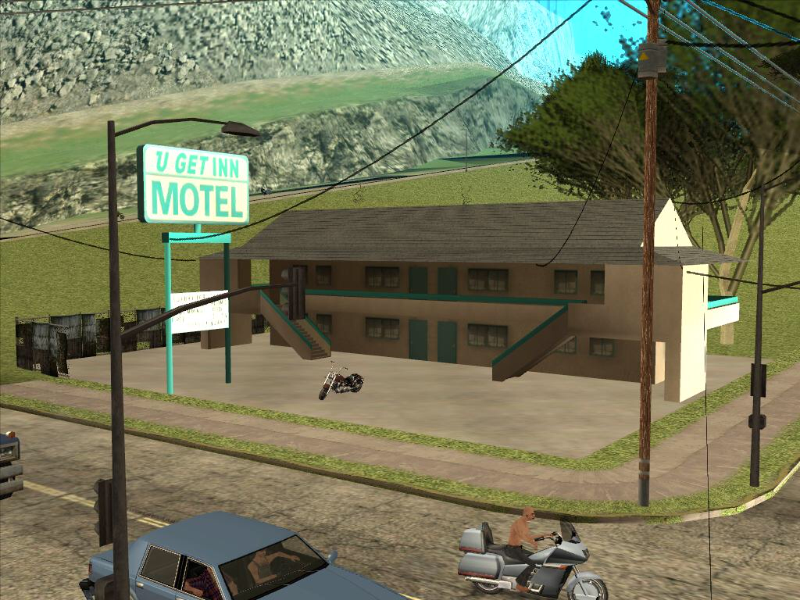 The U Get Inn Motel at Angel Pine, Whetstone, San Andreas puzzle
