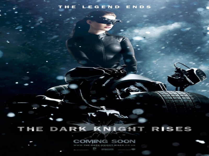 Catwoman The Dark Knight Rises Poster  puzzle