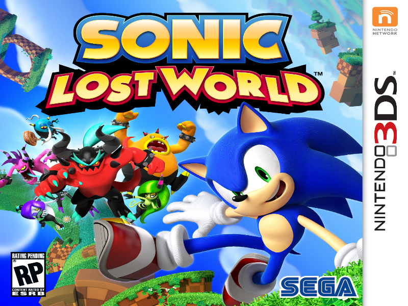 sonic lost world for nintendo 3ds puzzle