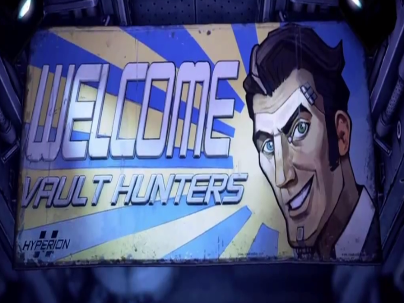 Borderlands 2 Handsome Jack Welcome Vault Hunters  puzzle