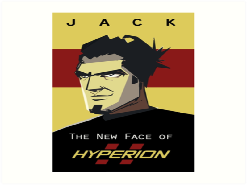 Handsome Jack Borderlands 2 The New Face of Hyperion  puzzle