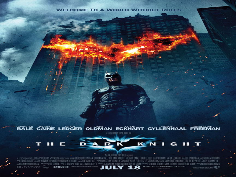 The Dark Knight Poster  puzzle