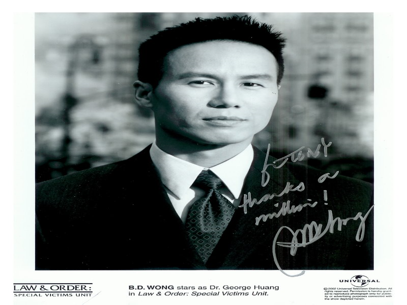 B.D. Wong as Dr.George Huang  puzzle