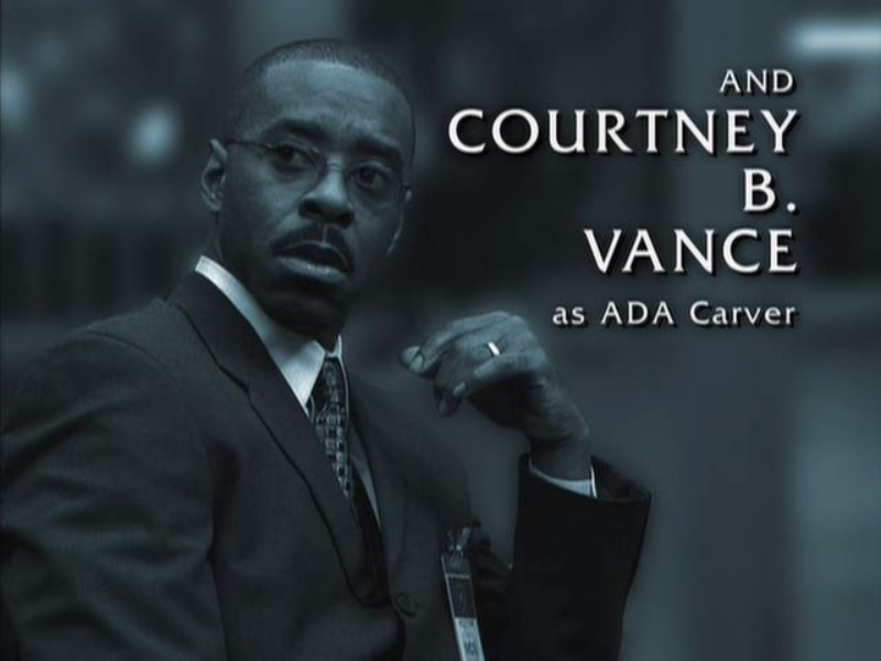 Law and Order: Criminal Intent Courtney B. Vance as ADA Carver  puzzle
