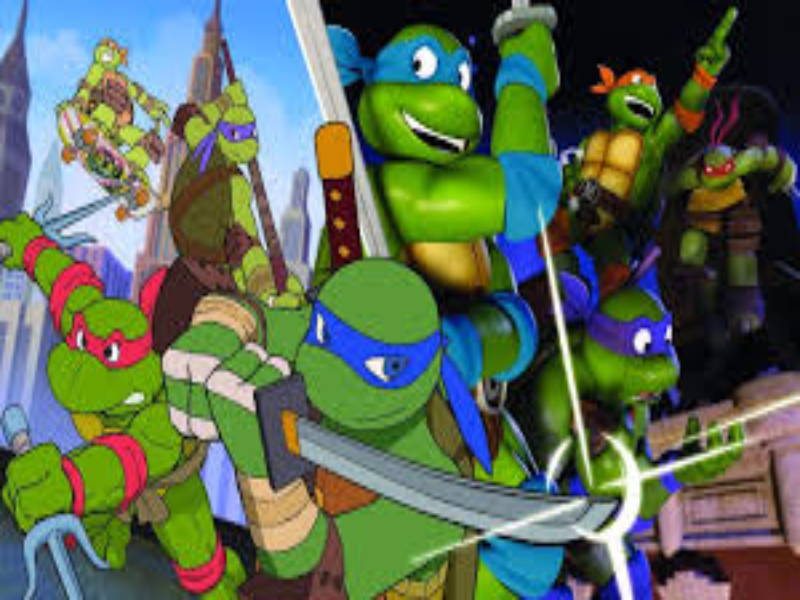 the nickaloaden Teenage mutant ninja turtles meets the 80s teenage mutant ninja turtles puzzle