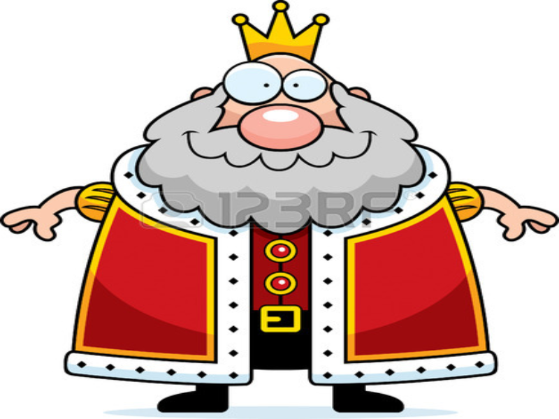 a fat king cartoon ugly puzzle