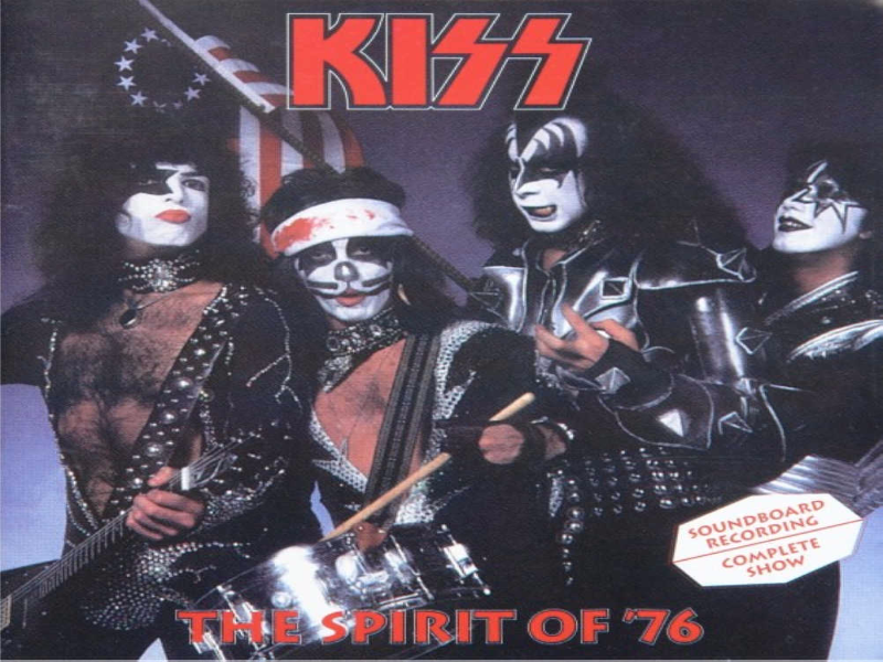 Kiss Spirit of 76 puzzle
