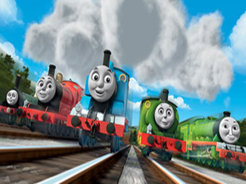 thomas and friends Number one puzzle