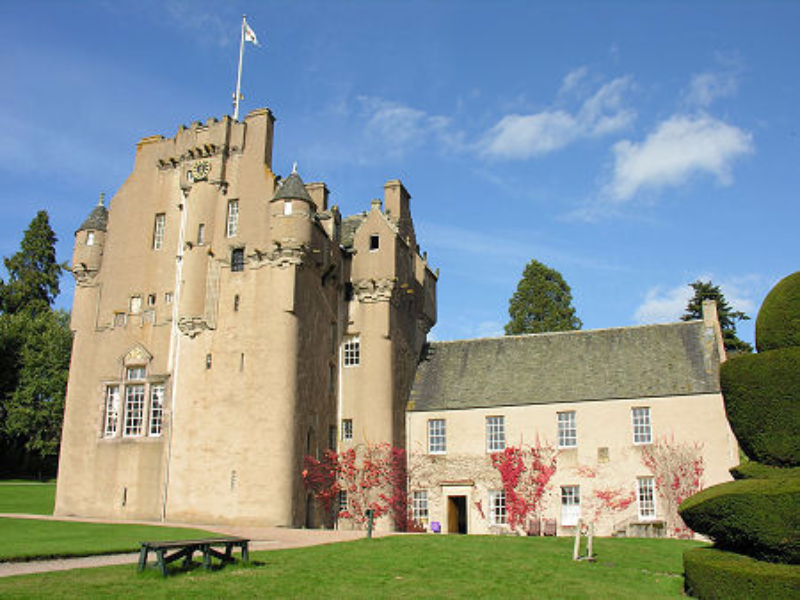 Crathes Castle, Banchory puzzle