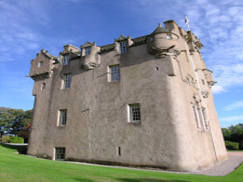 Crathes Castle Banchory easier puzzle