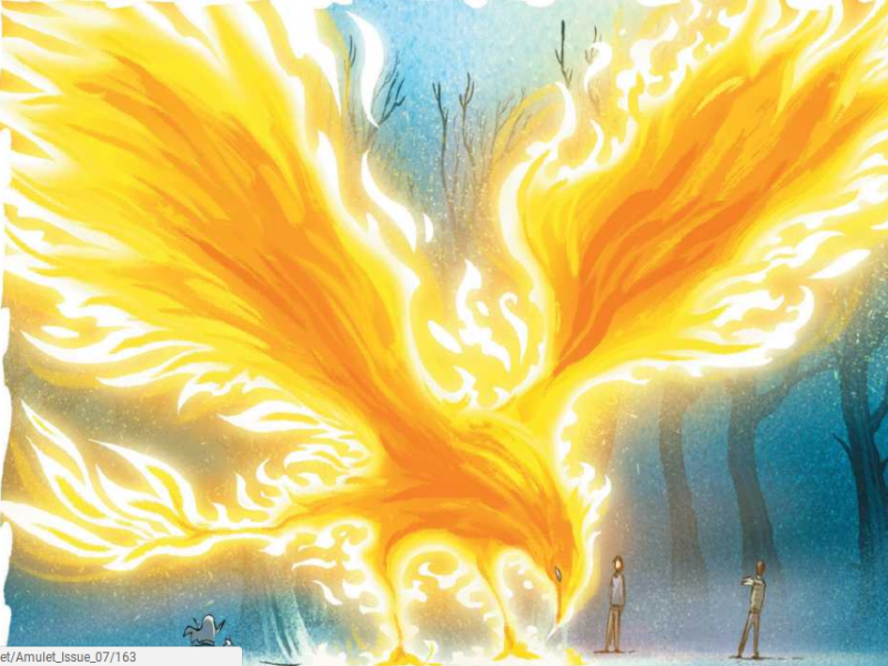 Phoenix (From the Amulet books) puzzle