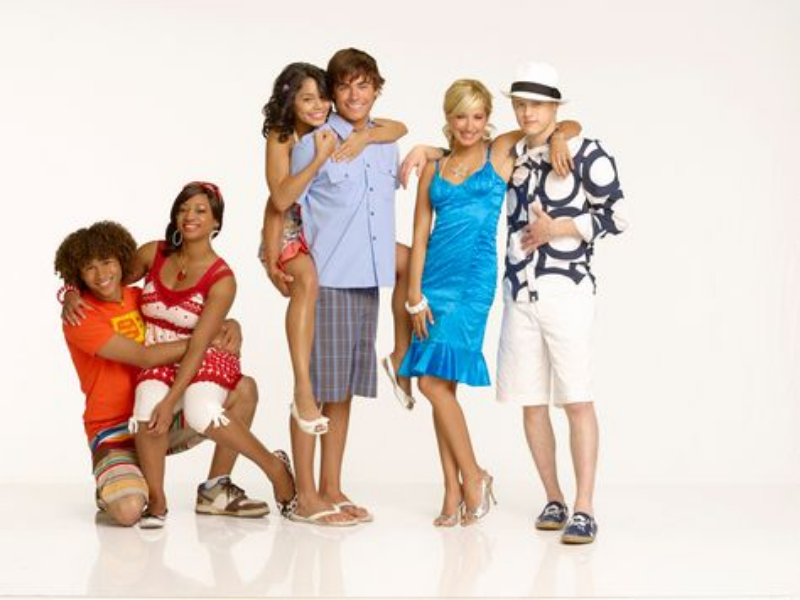 Hsm 2 my fav couples  puzzle