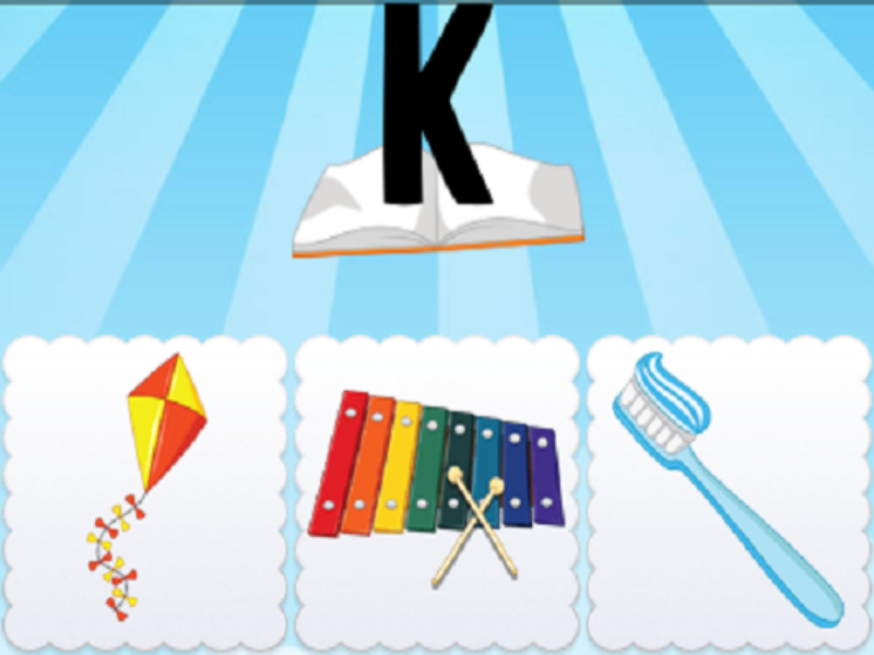 k kite xylophone toothbrush puzzle
