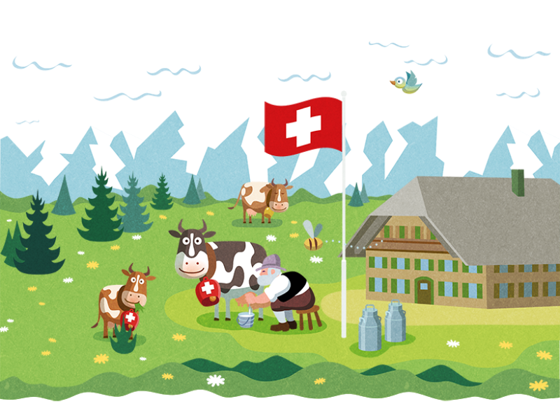 Swiss Cow puzzle