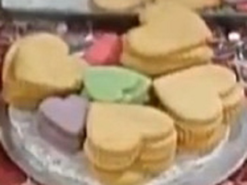heart cookies puzzle