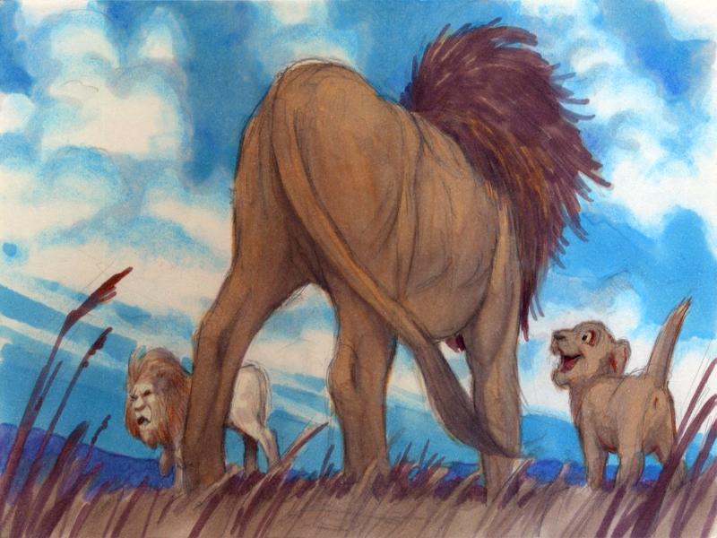 Lion King Scar Concept Art